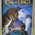 CATS AND DOGS VHS STARRING JEFF GOLDBLUM ELIZABETH PERKINS COMDEDY (B54)