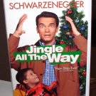 JINGLE ALL THE WAY VHS MOVIE STARRING ARNOLD SCHWARZENEGER SINBAD COMEDY (B54)