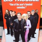 BIG TROUBLE VHS MOVIE STARRING TIM ALLEN RENE RUSSO STANLEY TUCCI DENNIS FARINA COMEDY (B53)