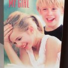 MY GIRL VHS MOVIE STARRING DAN AYKROYD JAMIE LEE CURTIS MACAULAY CULKIN ANNA CHLUMSKY LOVE AND LOSS