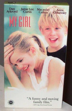 MY GIRL VHS MOVIE STARRING DAN AYKROYD JAMIE LEE CURTIS MACAULAY CULKIN ANNA CHLUMSKY LOVE AND LOSS