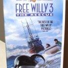 FREE WILLY 3 THE RESCUE VHS MOVIE STARRING JASON JAMES RICHTER AUGUST SCHELLENBERG (B52)
