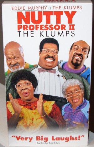 NUTTY PROFESSOR II THE KLUMPS VHS MOVIE STARRING EDDIE MURPHY COMEDY (B53)