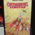OUTRAGEOUS FORTUNE COMEDY STARRING BETTE MIDLER SHELLEY LONG PETER COYOTE VHS VIDEO (B60)