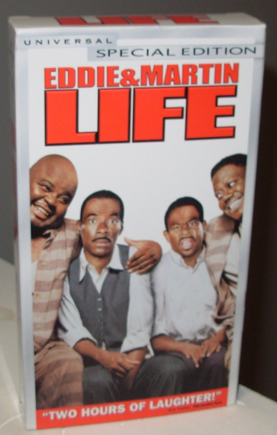 life comedy starring eddie murphy martin lawrence vhs