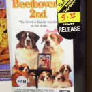 BEETHOVENS 2ND VHS STARRING CHARLES GRODON BONNIE HUNT COMEDY (B52)
