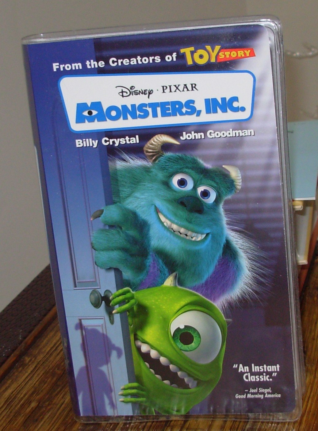 Monsters inc from pixar vhs animated kids comedy b52 for Monster advanced search