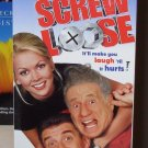 SCREW LOOSE VHS VIDEO STARRING MEL BROOKS EZIO GREGGIO COMEDY (B52)