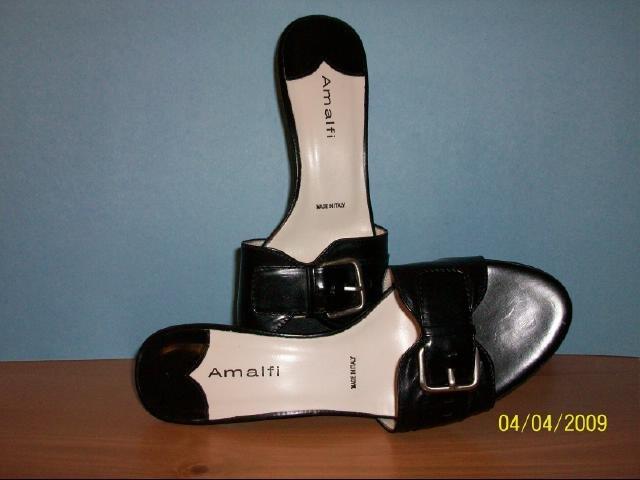 Italian Amalfi Mules - Size 7 B