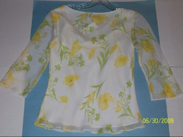 Banana Republic Floral Top - Size XS