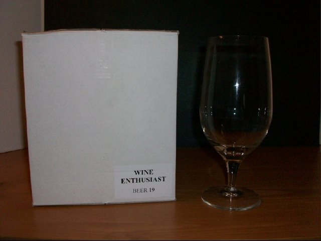 Wine Enthusiast Beer or Everyday Glasses