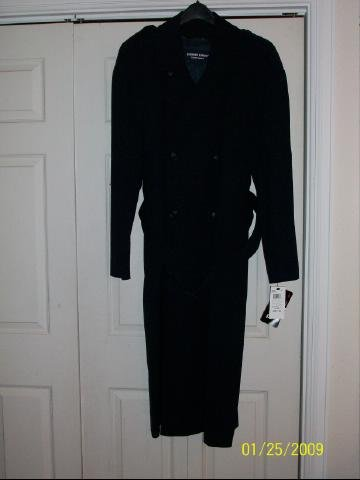 Men's Newport Harbor Career Apparel Trench Coat - Size 40L