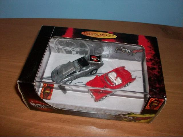 Hot Wheels Corvette 50th Anniversary Limited Edition Collectible Car