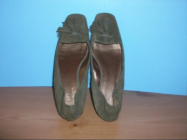 Cole Haan Brown Suede Tassled Flats - Size 8B