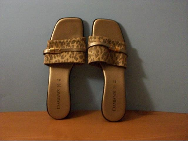 Damiani's Gold and Pewter Color Print Slides - Size 8 1/2