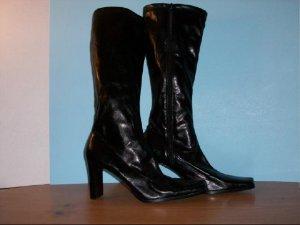 Croft & Barrow Knee High Black Zipper Boots - Size 11M