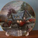 "Thomas Kinkade ""Olde Thomashire Mill"" Collectible Plate"