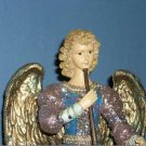 "Hand Painted Resin 14"" Angel"