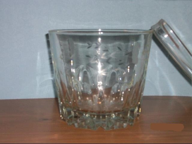 Crystal Glass Ice Bucket