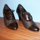 Impo Brown Wingtip Booties - Size 8 1/2M