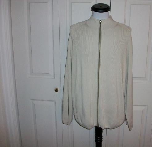 Men's Indigo Palms Denim Co. Zipper Sweater - Size XL