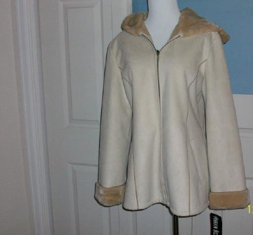 Women's Marvin Richards Faux Suede Coat - Size Medium