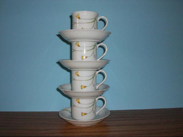 Prelude by Toscany Collection - 8 piece Espresso Set
