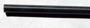 "Delrin ® brand acetal rod 7/16"" dia 11-3/8"" black plastic DuPont POM"