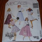 1991 McCall's Fashion Basics Skirt Pattern #5193 Sz 14