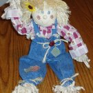 17 Inch Scarecrow Doll Halloween Fall Decoration Country