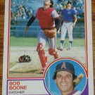 1983 MLB Topps Bob Boone California Angels Card #765