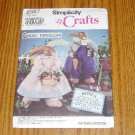 Uncut Simplicity Daisy Kingdom Bunny & Clothes Pattern