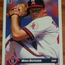 1993 MLB Donruss Series 2 #665 Mike Butcher Califonia Angels