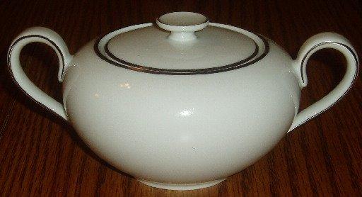 Crown Bavaria Germany Elegance Pattern Sugar Bowl