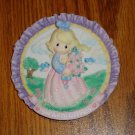 Enesco Precious Moments Wall Hanging Girl With Flowers