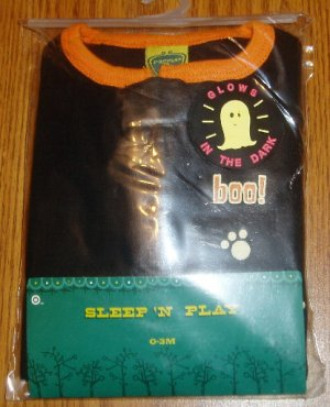 NIP Halloween Infant Sleeper Sz 0-3 Mos Baby Costume
