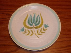 Vintage Franciscan Pottery Tulip Time Dinner Plate