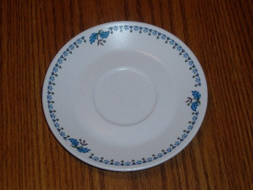 Noritake Progression China Blue Moon Pattern Saucer