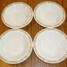 Set of 4 Vintage Buffalo China Bowls Restaurant Ware