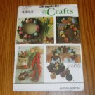 Simplicity Crafts Uncut Home Decor Pattern Fruit Gourds Chili Peppers