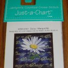 Janlynn Counted Cross Stitch Daisy Flower Pattern Chart