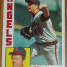 1984 MLB Topps Card #415 Tommy John California Angels
