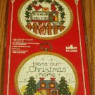 Christmas Cross Stitch Pair Kit From Vogart Crafts