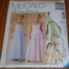 McCall's Evening Elegance Formal Dress Pattern Uncut 12 14 16