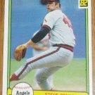 1982 MLB Donruss Steve Renko California Angels Card #38