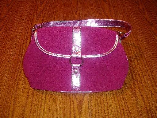 NWT Fuchsia Mossimo Purse/Shoulder/Hand Bag