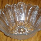 Indiana Glass 7 Inch Clear Bowl Lily Pons Pattern
