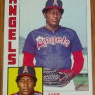 1984 MLB Topps Card #258 Luis Sanchez California Angels
