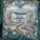 Country House Tapestry Decorative Throw Pillow Decor