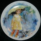 Limoges Turgot Paul Durand Christiane & Fifi Collector Plate